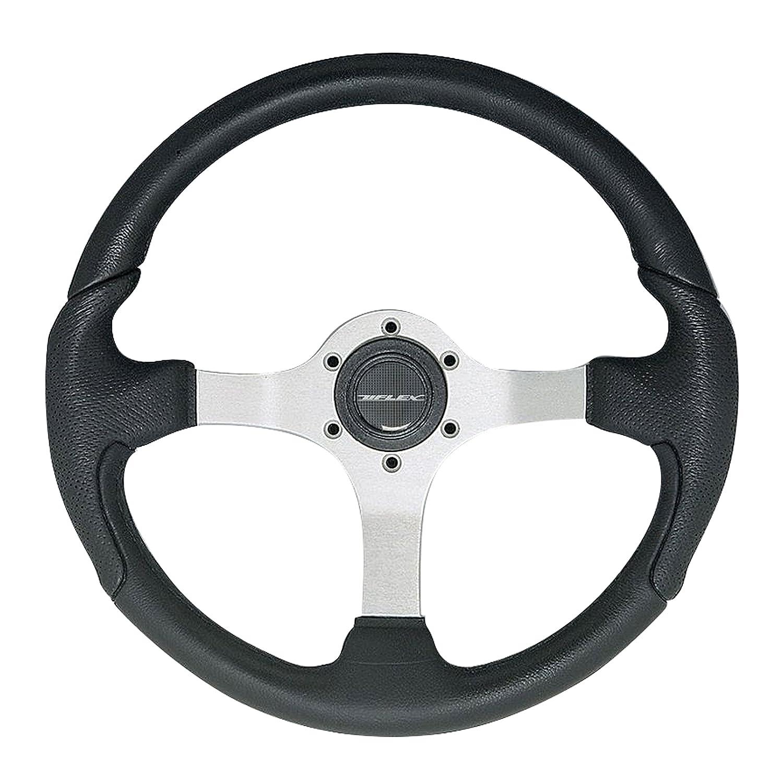 Uflex USA Inc 61812M NISIDA-B//B Steering Wheel with Black Grip//Black Spokes