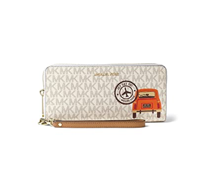 ee754cbd888521 Image Unavailable. Image not available for. Color: MICHAEL Michael Kors  Drive Away Travel Continental Wallet ...
