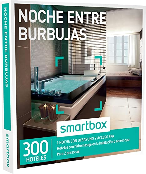 Smartbox - Caja Regalo -Noche Entre Burbujas - 300 estancias con ...