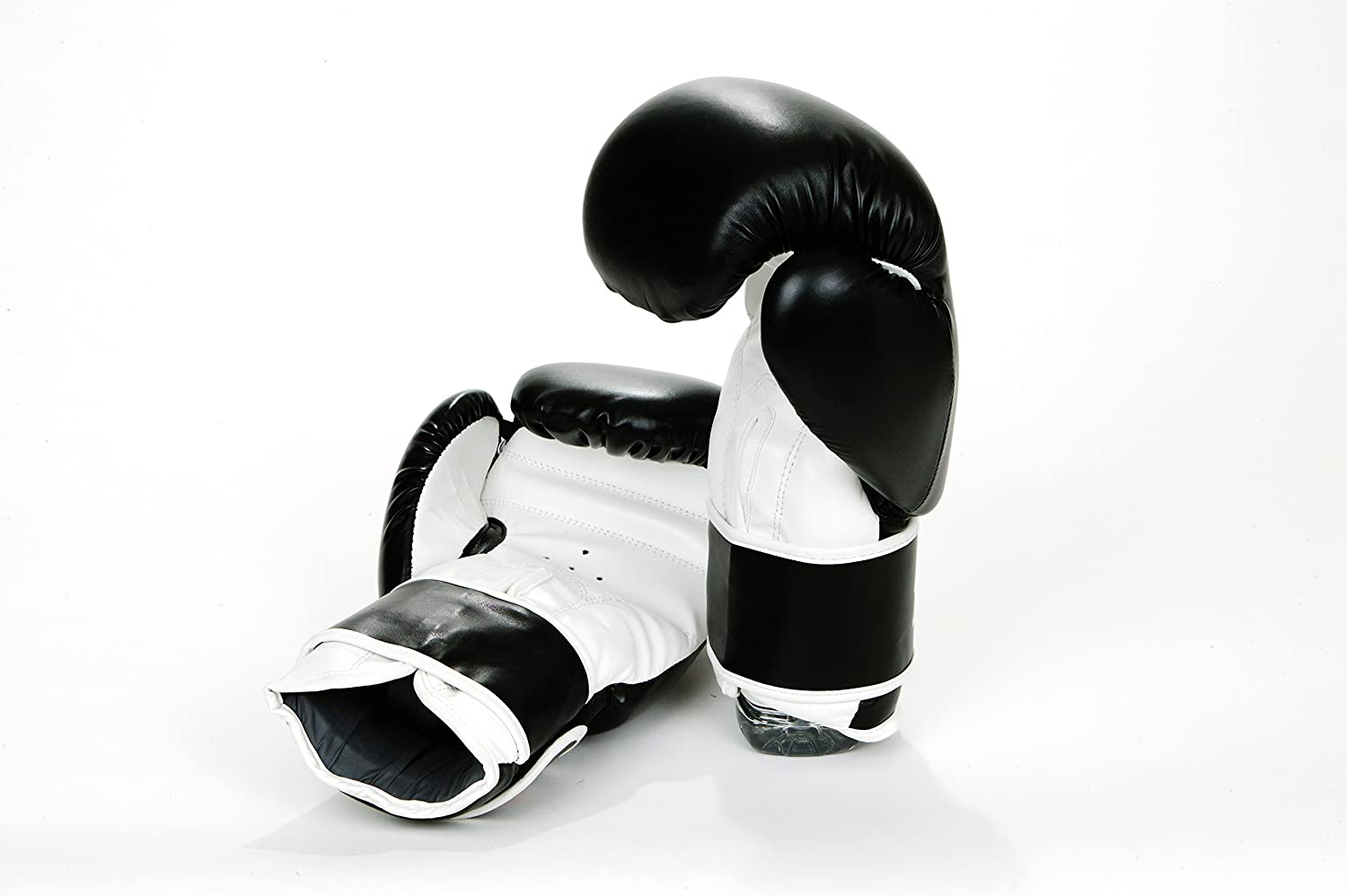 ZEALOUS BLACK BOXING GLOVE SPARRING PUNCH BAG MUAY THAI KICKBOXING MMA
