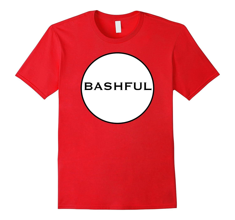 Clever BASHFUL DWARF Funny Group Matching Halloween T-Shirt-FL