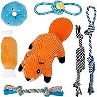 Toozey Juguetes para Perros Pequeños Juguete Cachorros- 7 Piezas de Juguetes para Perros para Cachorros/Perros pequeños…