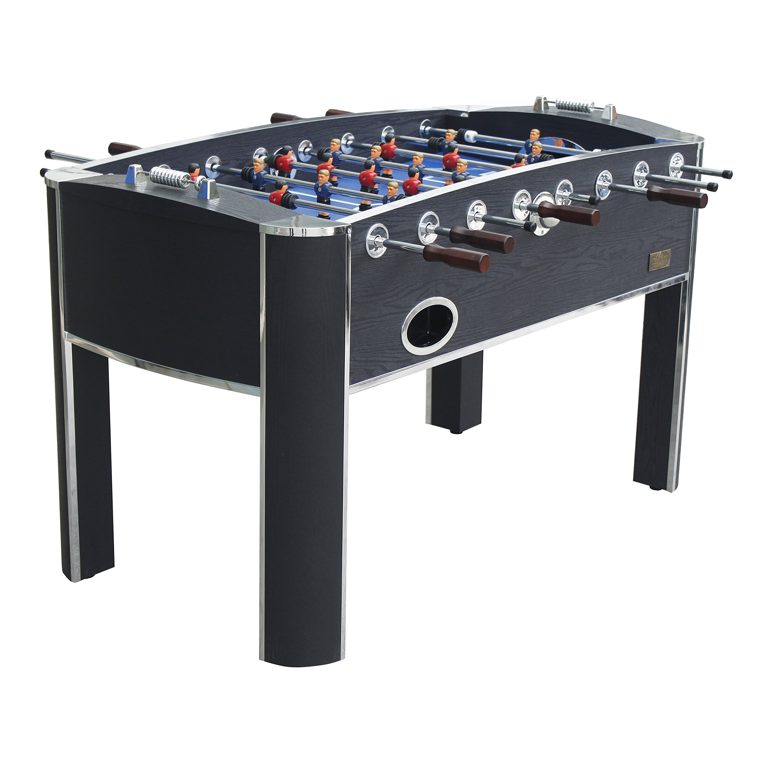 MD Sports Barrington 58'' Wooden Home Gameroom Foosball Table with Accessories