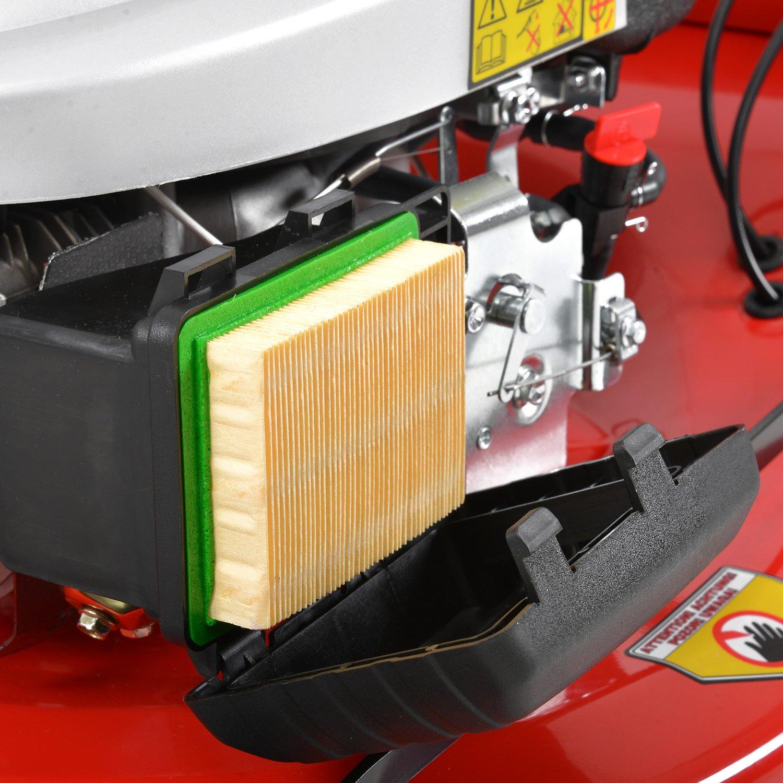 HECHT Benzin-Rasenmäher 5564 SXE Rasenmäher + Elektro-Start Funktion ...