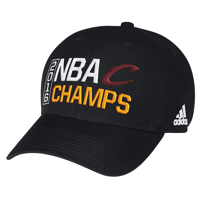 effaafcb820 Amazon.com   Cleveland Cavaliers Black 2016 NBA Finals Champions Locker  Room Champs Adjustable Hat   Cap   Sports   Outdoors