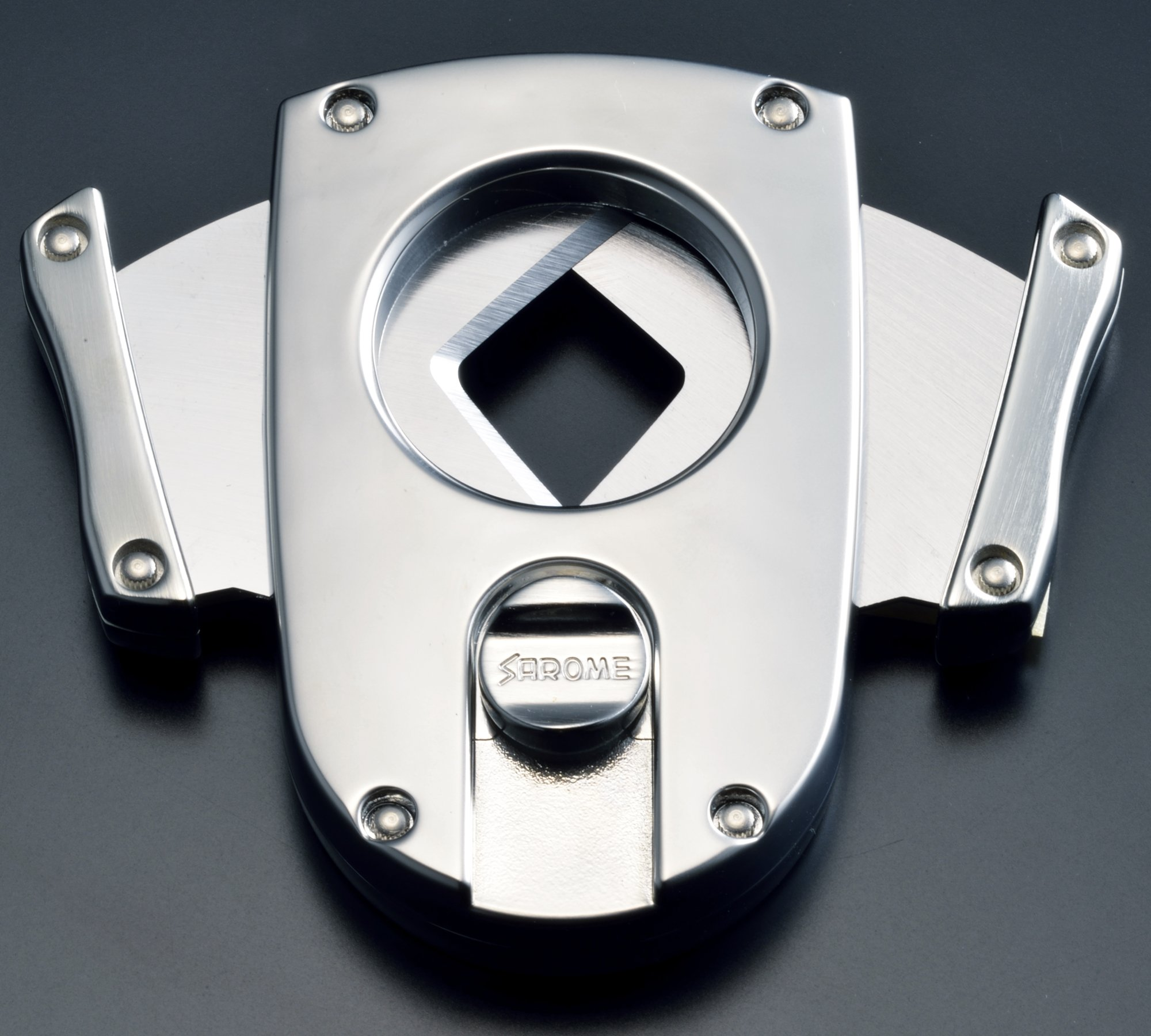 Sarome Metal Cigar Cutter EXCT2-03 Blue by Sarome (Image #2)