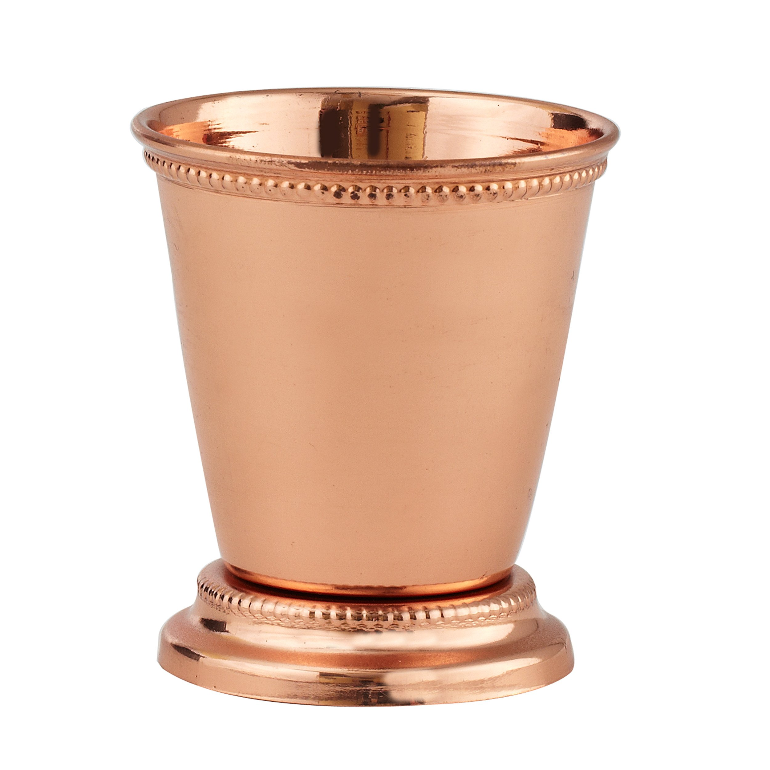 Elegance Copper Plated Mint Julep Cup, 2.75-Inch, Copper
