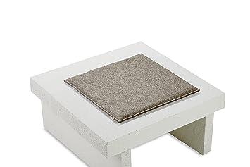 Sitzauflage Stuhl filz sitzkissen sitzauflage stuhl kissen eckig gepolstert 100