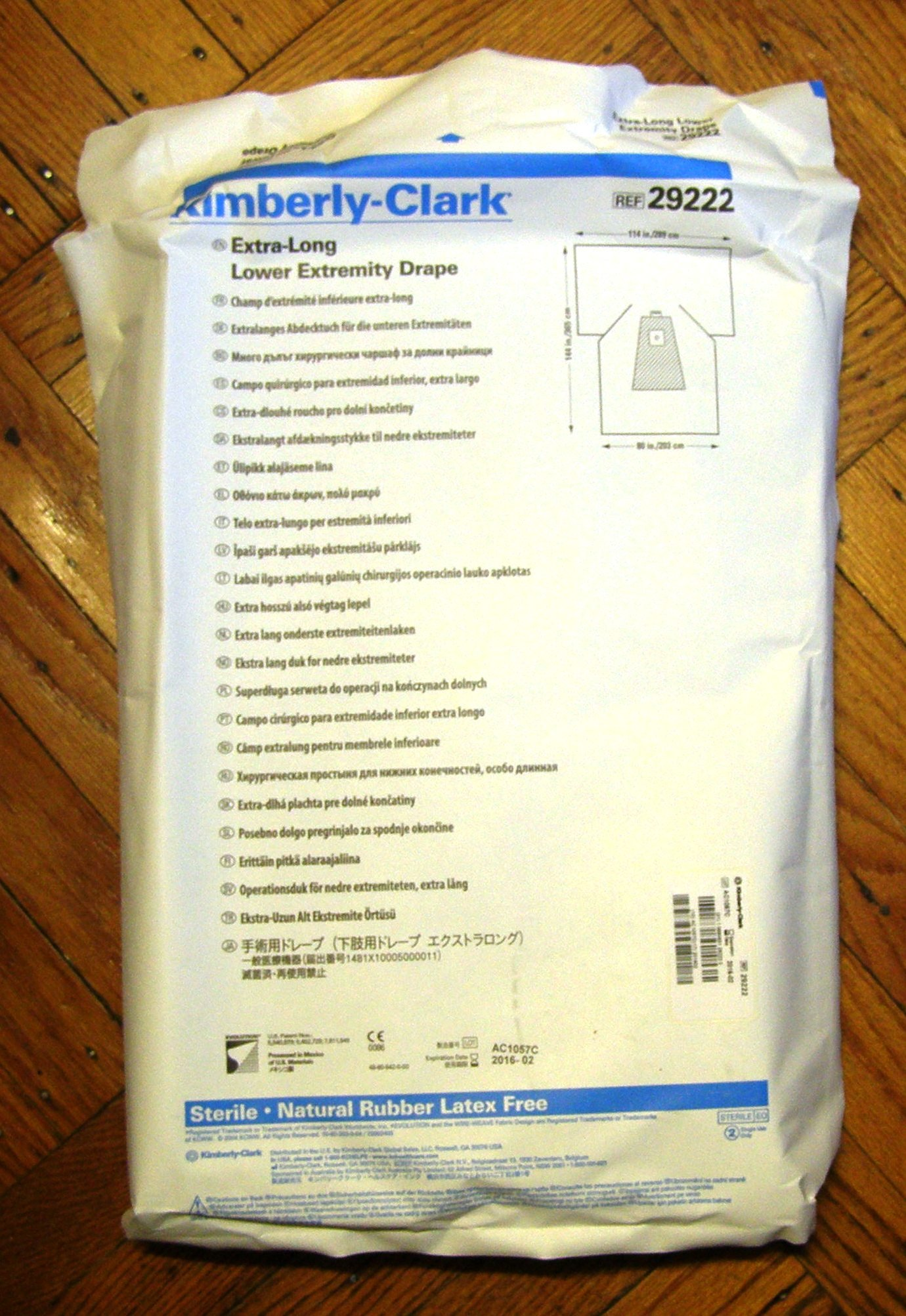KIMBERLY-CLARK IMPERVIOUS COMFORT GOWN , Patient Care and Supplies , Apparel