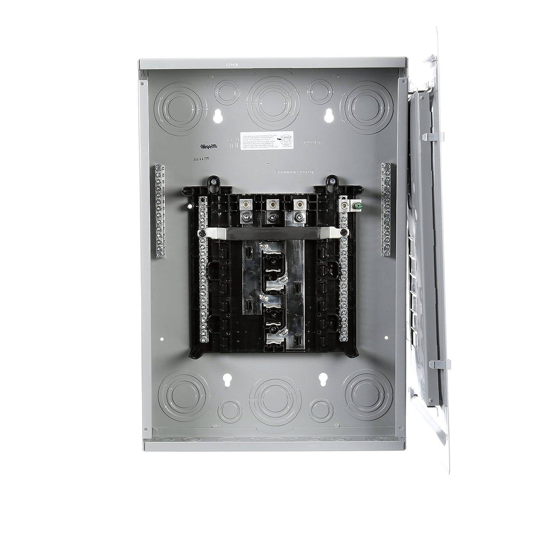 P1224L3125CU 125-Amp 12-Space 24-Circuit 3-Phase Main Lug Load Center
