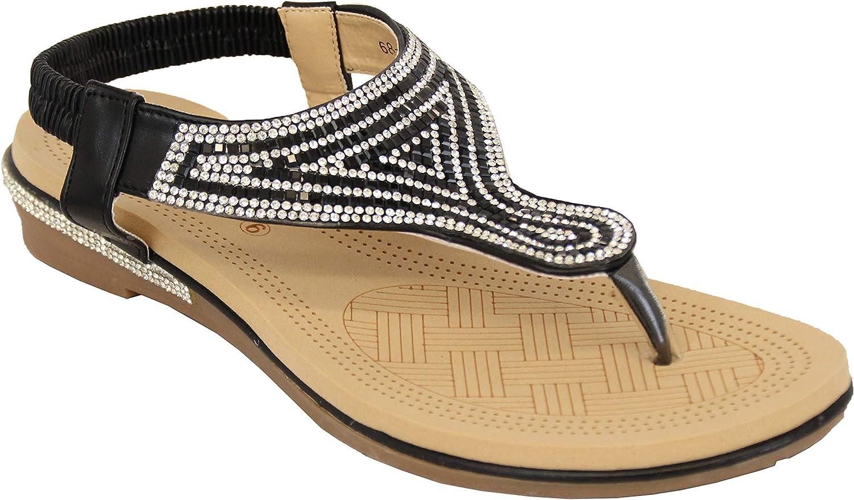 Silver Kids Diamante Sandals by Kelsi Shoes