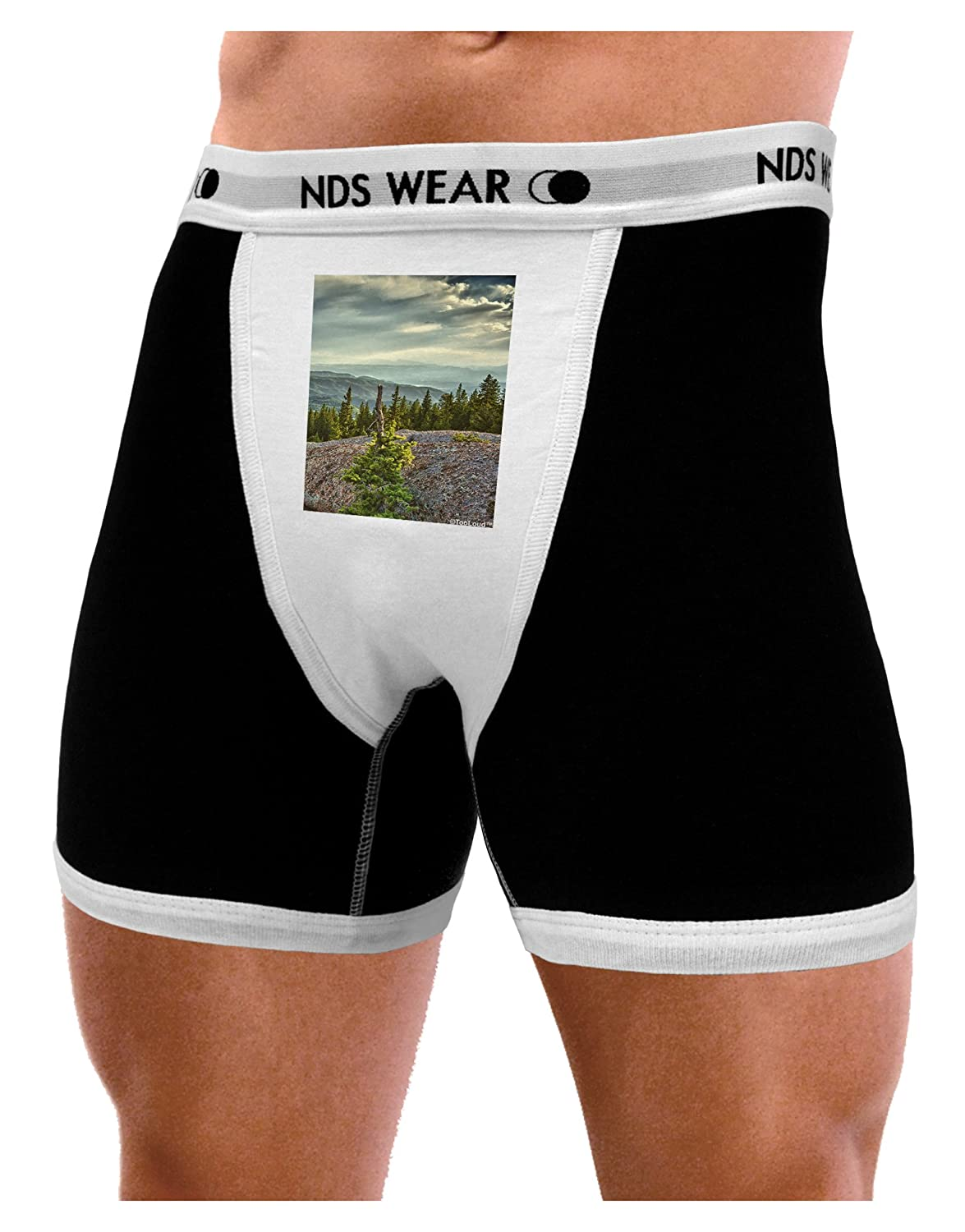NDS Wear TooLoud Nature Photography Pine Kingdom Mens Boxer Brief Underwear