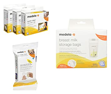 Amazon.com : Medela Breast Milk Storage Bags, 100pc Milk ...