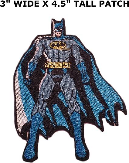 Athena Super Heros Dc Batman Debout Logo Facile Fer A Repasser Ou
