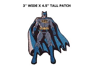 Athena Super Héros Dc Batman Debout Logo Facile Fer à