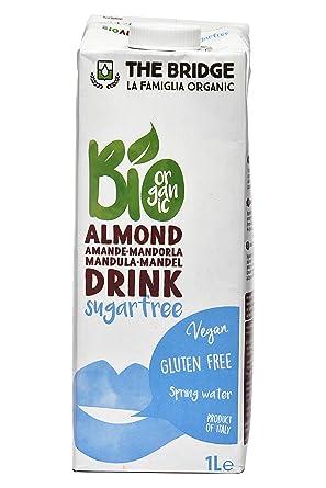 Bebida vegetal de almendras The Bridge 1L: Amazon.es ...