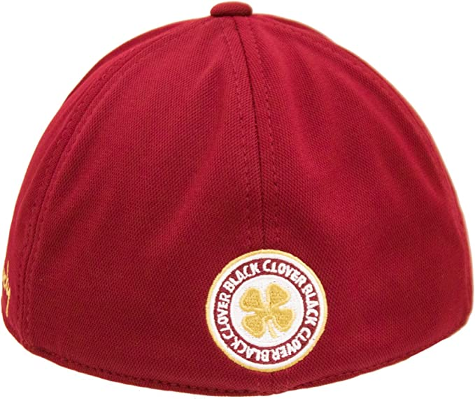 Black Clover Gold//White//Garnet FSU Premium Fitted Hat S//M