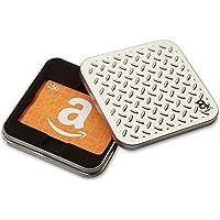 Amazon.ca Gift Card in a Diamond Plate Tin (Classic Amazon Icons Card Design)