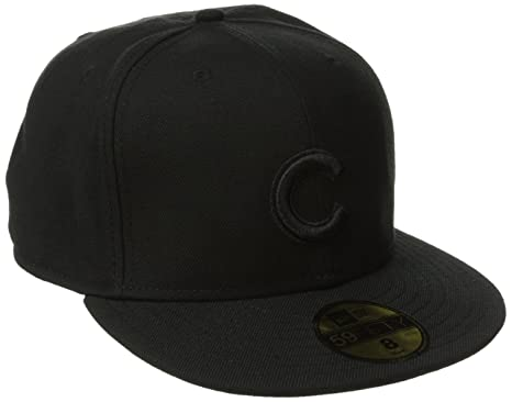 Buy New Era MLB Black on Black 59FIFTY Fitted Cap Online at Low Prices in  India - Amazon.in 884168d11c3b