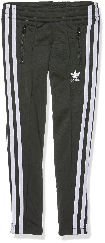 Adidas - Pantaloni Calca per Ragazza, Bambina, Calca, Black/White, 116 ADIEY|#adidas S96079