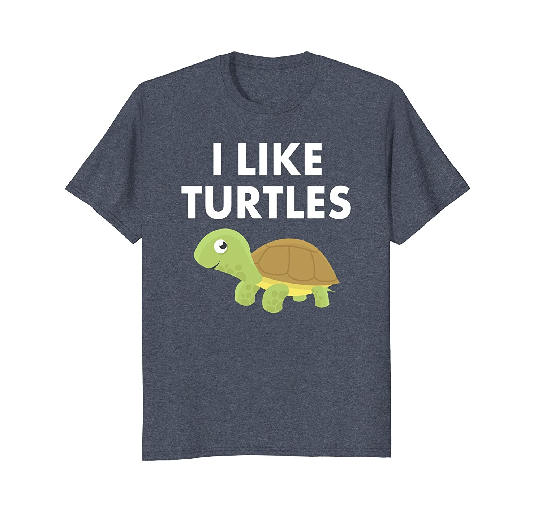 I Like Turtles T Shirt-AZP