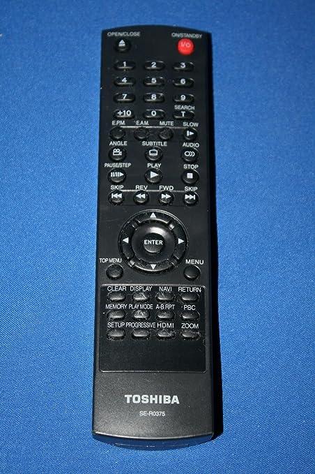 amazon com genuine original toshiba remote control se r0375 rh amazon com For Toshiba TV Manuals Garmin GPS User Manual