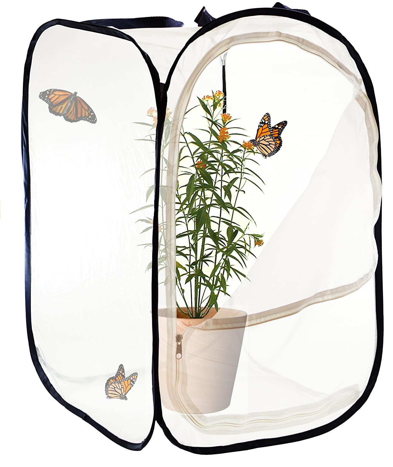 amazon com insect and butterfly habitat 24 inches tall toys