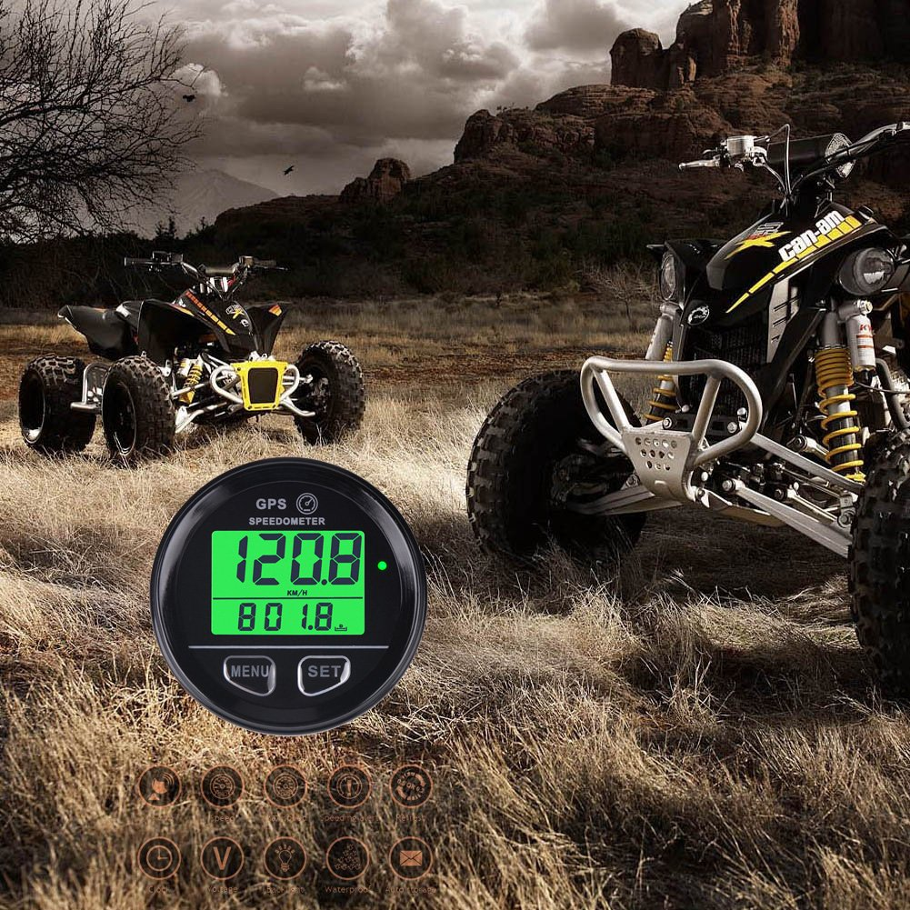 Ltd Runleader RL-SM001 Waterproof Digital GPS Speed Meter Backlight Speed Counter for ATV UTV Motorcycle Automobile Motor Vehicle Ningbo Jiangbei Run Leader Electronics Co