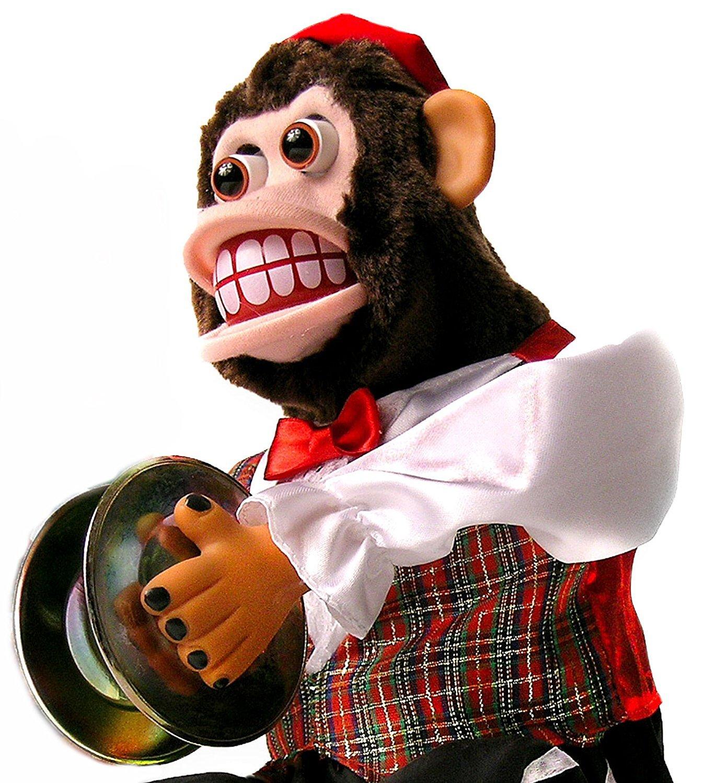 Charley Chimp The Original Cymbal Playing Monkey Amazon