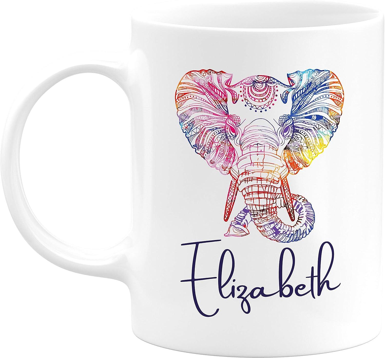11oz mug Hello My Name is Liz Ceramic Printed Coffee Tea Cup Gift