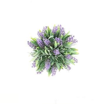 Deko-Kranz Lavendel künstlich Kunst-Lavendel Kunstplanze Kunstblume