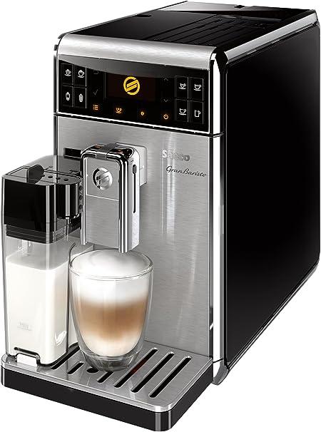 Saeco HD8966/11 - Cafetera Gran Baristo espresso automática, de acero inoxidable, color negro: Amazon.es: Hogar