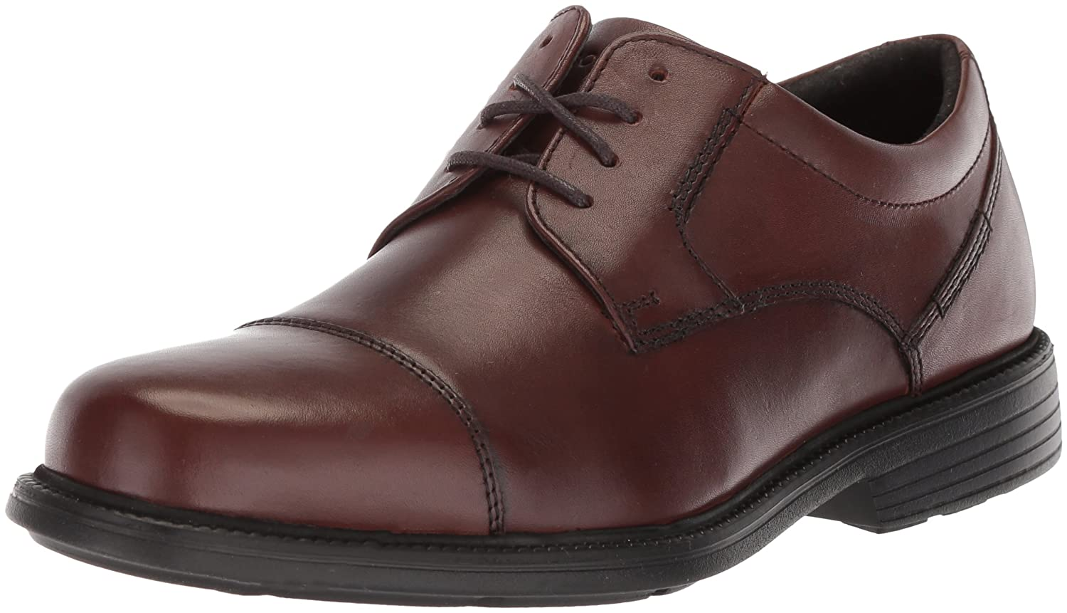 Rockport Men's City Stride Cap Toe Oxford, Tan, 12 M US