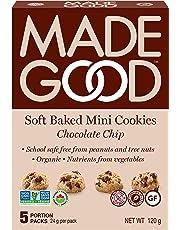MadeGood Chocolate Chip Soft Mini Cookies, 120g