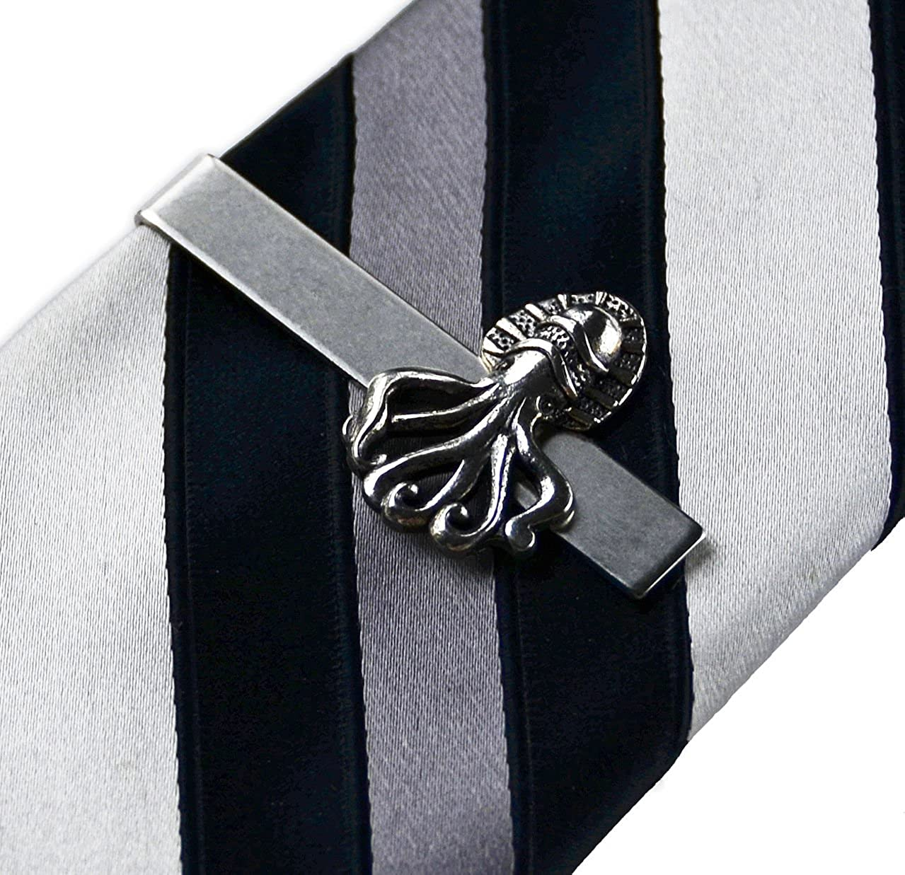 Quality Handcrafts Guaranteed Squid Tie Clip