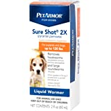 PETARMOR Sure Shot 2X (pyrantel pamoate) Liquid De-wormer for Dogs, 2 Fluid Ounces
