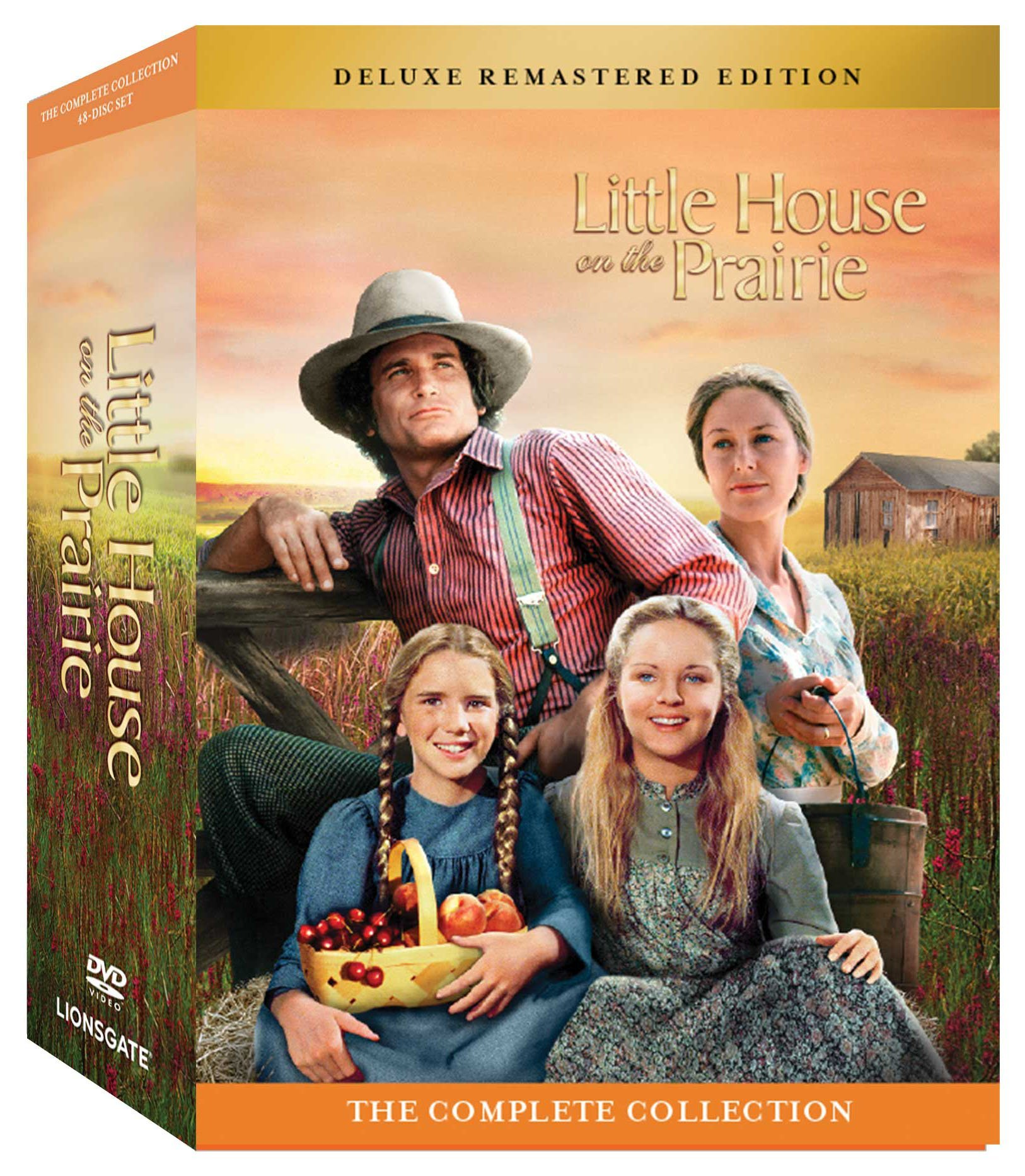 DVD : Little House on the Prairie: Complete Collection (Boxed Set, Full Frame, Deluxe Edition, Remastered, Dolby)