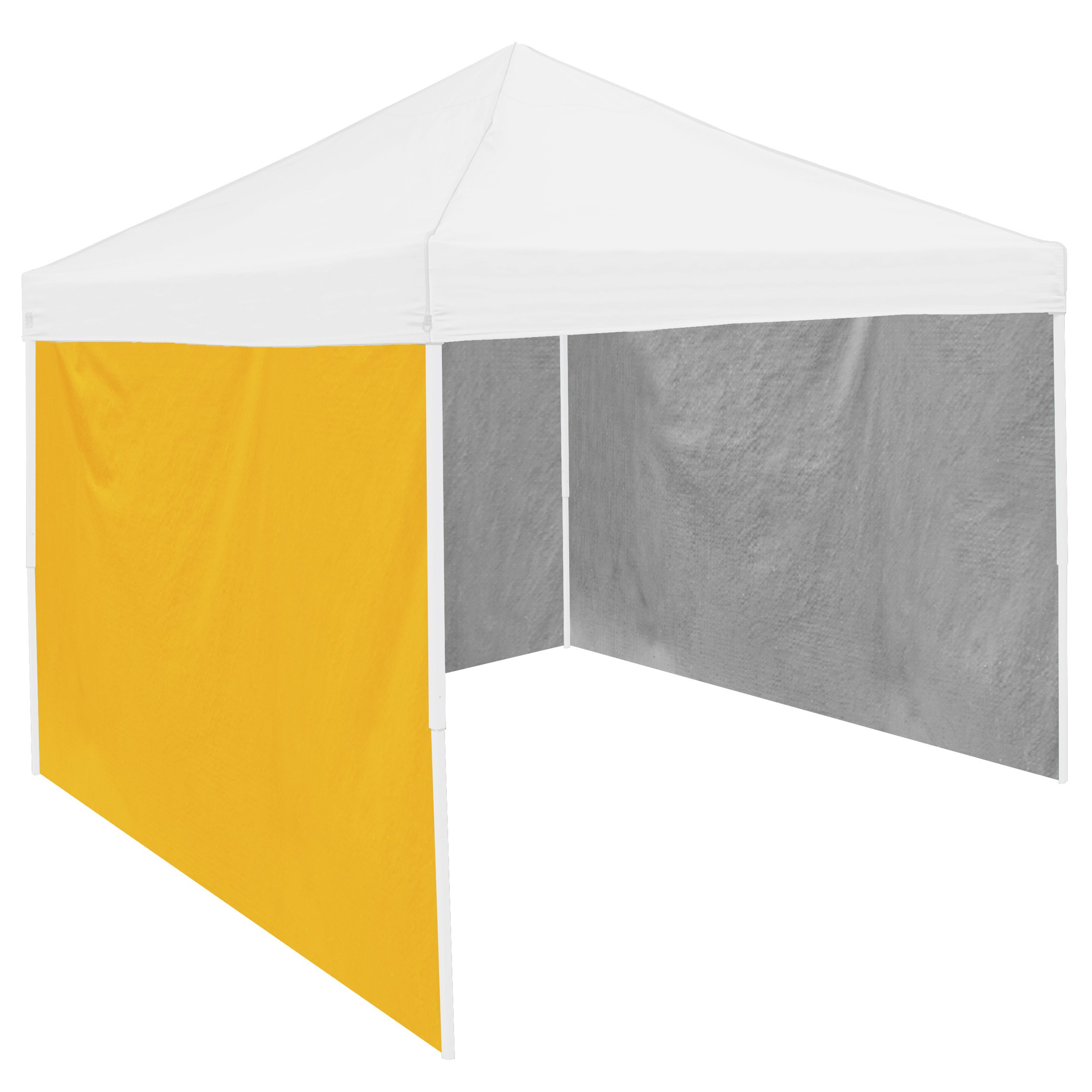 NCAA Adult Side Panel, 9 x 6', Yellow by Logo Brands