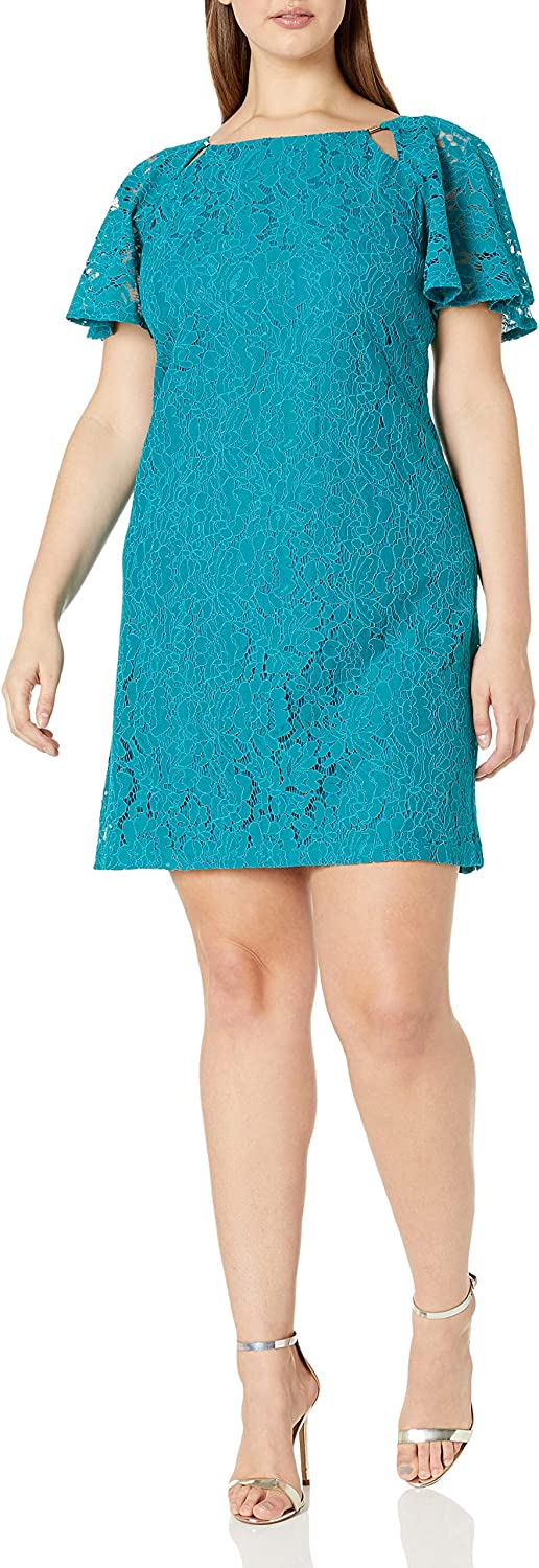 Julian Taylor Women's Plus Size Full Inexpensive Discount mail order All Shift Over Figured Lace