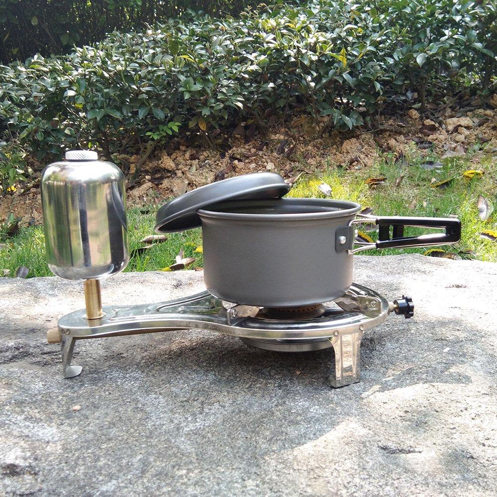 Lixada Alcohol L/íquido Cocina Estufa Gasificar Camping Estufa para Picnic Al Aire Libre Senderismo