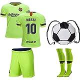 c19e4e5b826 JerzeHero Barcelona Messi  10   Neymar Jr  11 Youth Kids Soccer Jersey 4 in