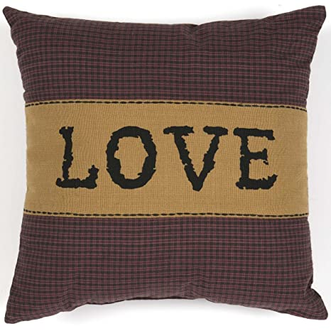 Amazon.com: VHC marcas almohada de las Granjas de Heritage ...