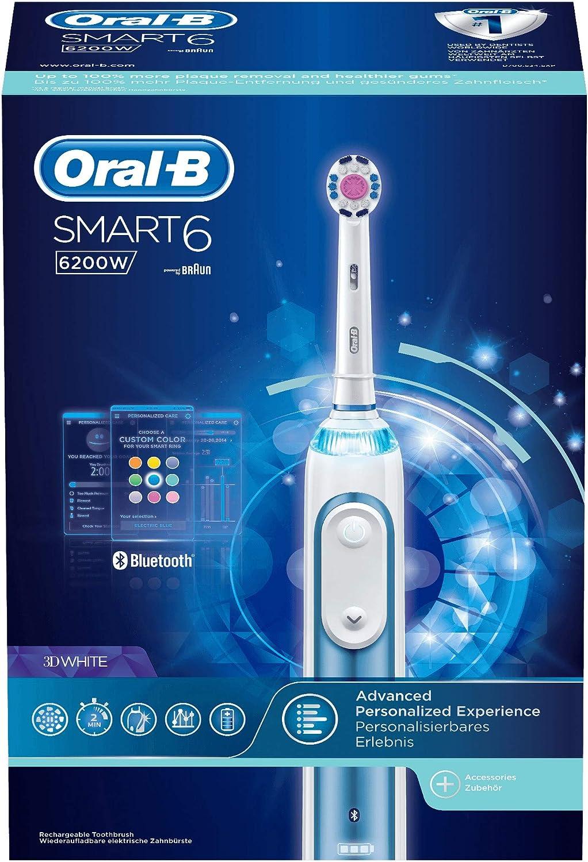 Oral-B Smart 6 6200W Cepillo de Dientes Eléctrico con Tecnología ...