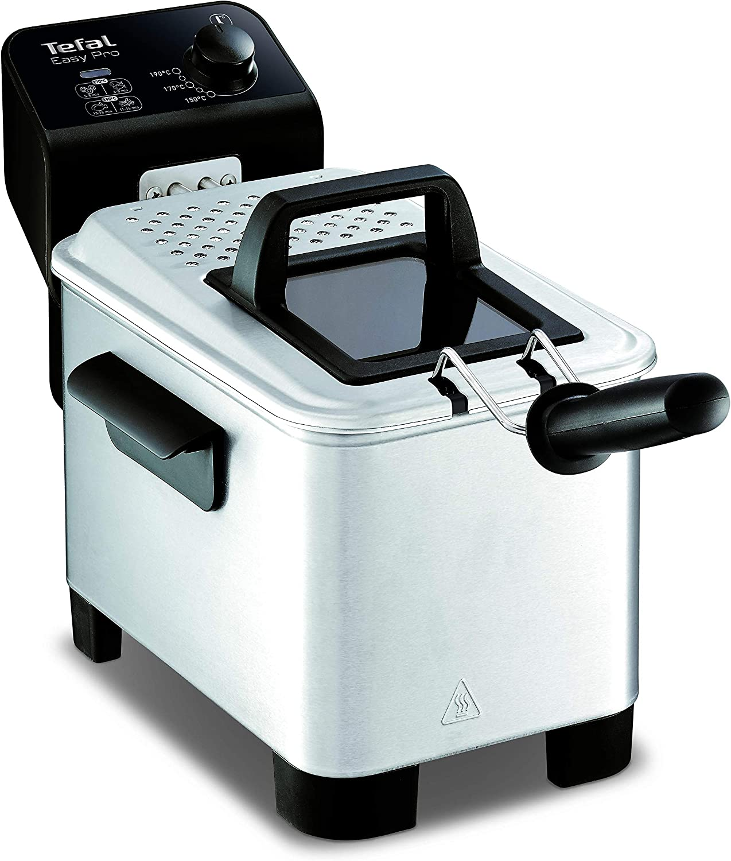 Tefal Easy Pro FR333040 Semi-Professional Deep Fryer, Grey and Black, 1 kg, 4 Portions