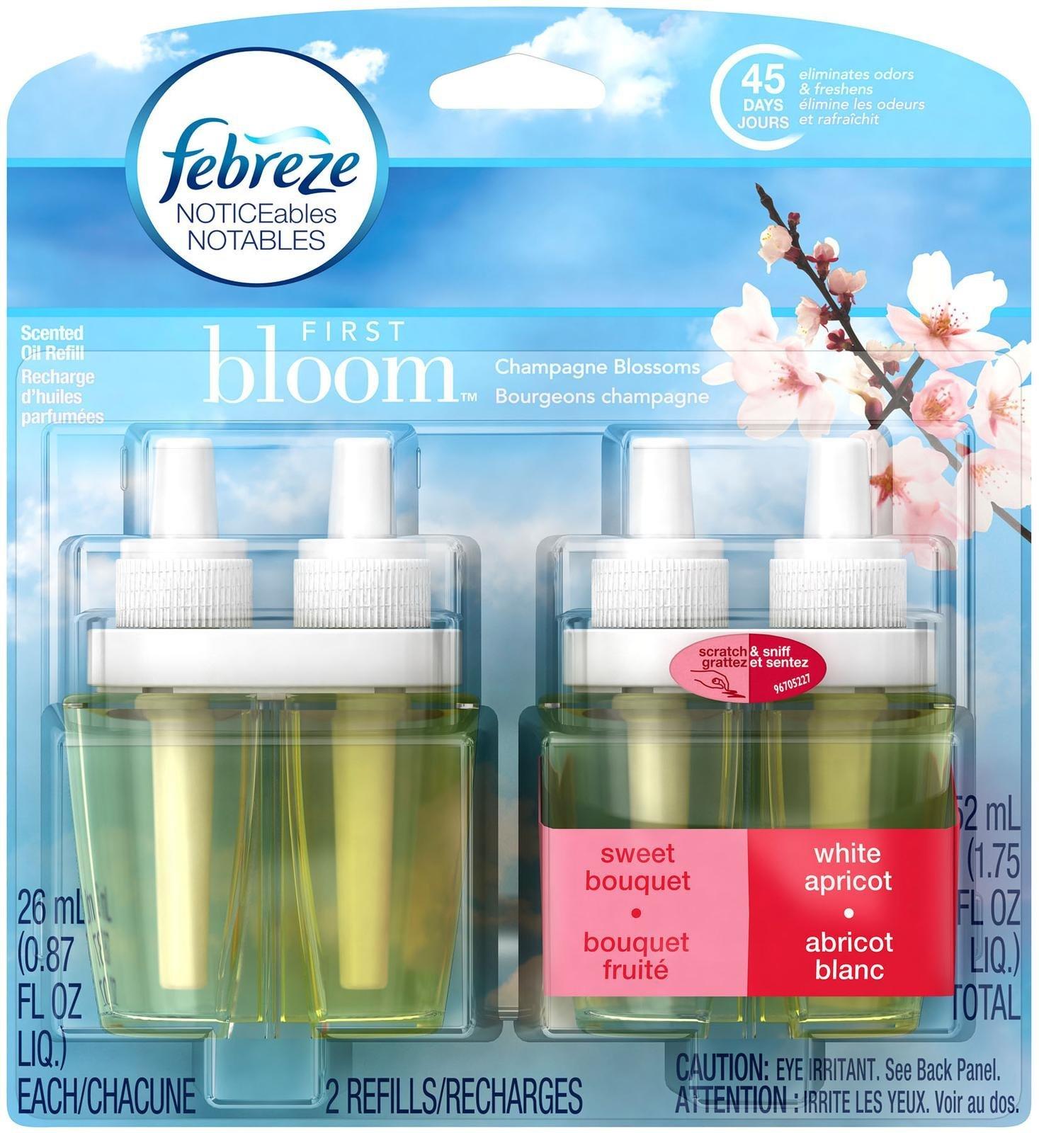 Amazon.com: Febreze Car Vent Clip First Bloom Air Freshener (1 Count ...