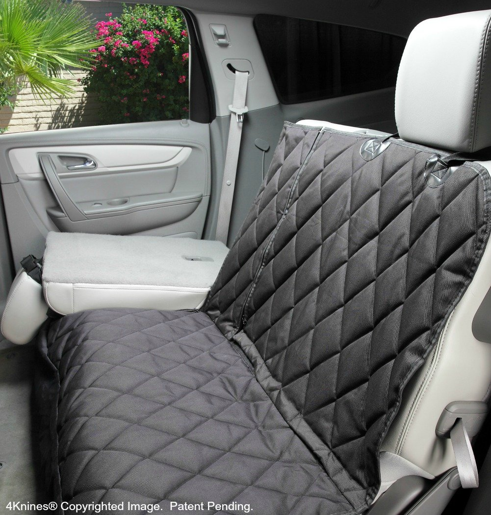 Seat Cover Without Hammock For Fold Down REAR BENCH SEAT 60 40 Split And Middle Belt Capable