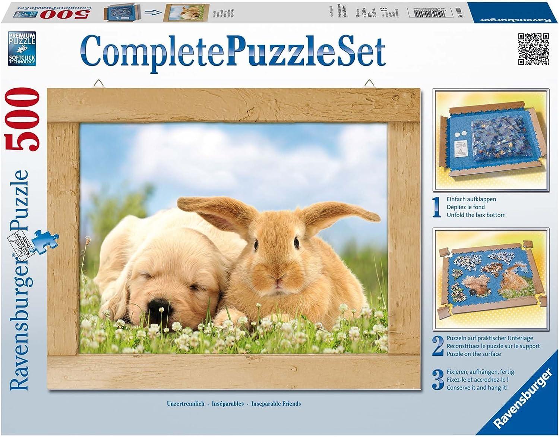Ravensburger - Complete Puzzle: set Amigos inseparables, puzzle de ...