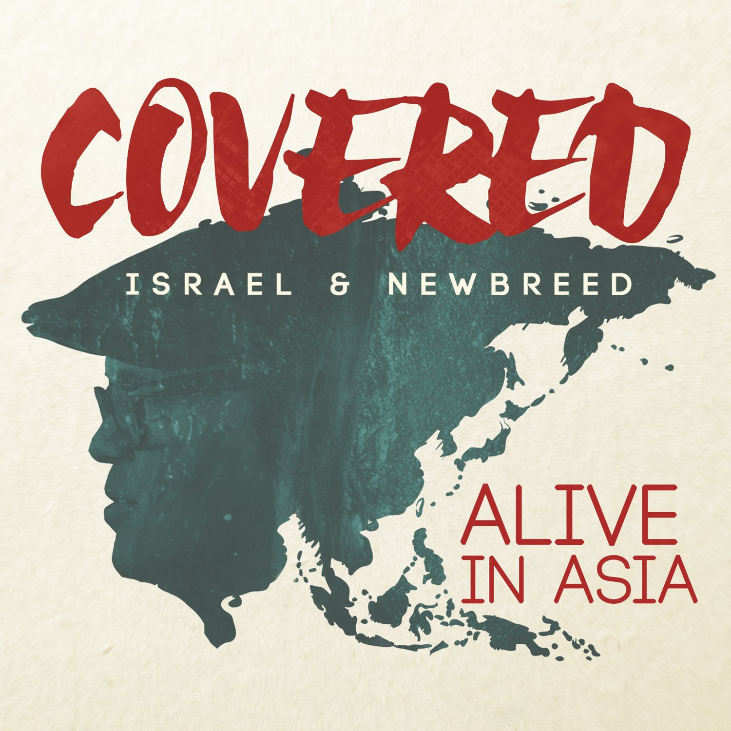 CD : Israel & New Breed - Covered: Alive In Asia [limited Edition] [bonus Dvd] (Limited Edition, Bonus DVD, 2PC)