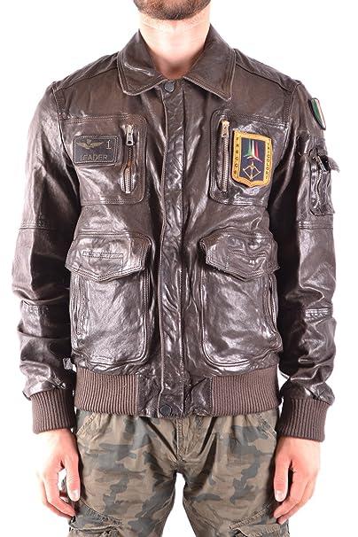 Aeronautica Militare - Chaqueta - para hombre Marrón marrón: Amazon.es: Ropa y accesorios