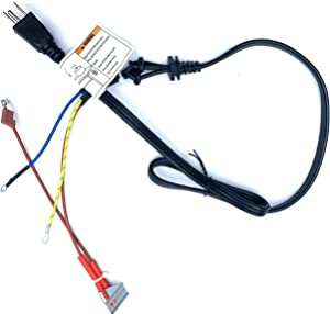 GJS Gourmet 3 Prong Power Cord Fuse Combo Works with Instant Pot Duo 80, Duo Plus 80, EVO Plus 6, EVO Plus 80, Nova 80, Nova 100, Duo Crisp AF 8, Ultra 80